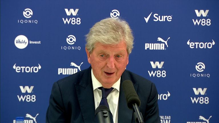 Crystal Palace boss Roy Hodgson said he was blown away by the guard of honour and reception he received in midweek but did not rule out a return to football in some capacity