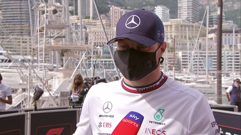 Bottas was lost for words after his race came to a premature end following a calamitous pit stop
