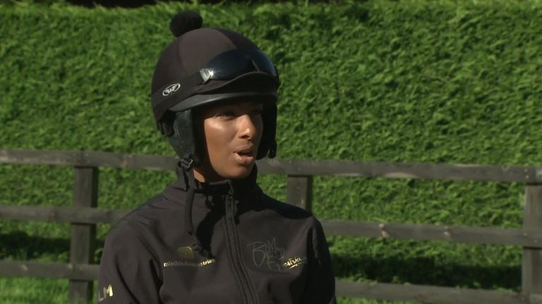 Head Lass Ashleigh Wicheard says she is 'one of the lucky few' to have had positive experiences in horse racing but feels more representation is needed, in order to improve diversity within the sport.