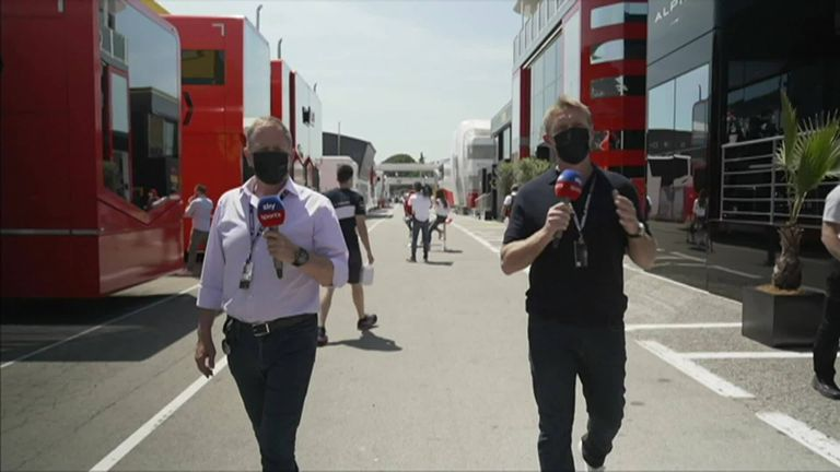 Simon Lazenby and Martin Brundle look ahead to the fourth race of the 2021 season from Barcelona