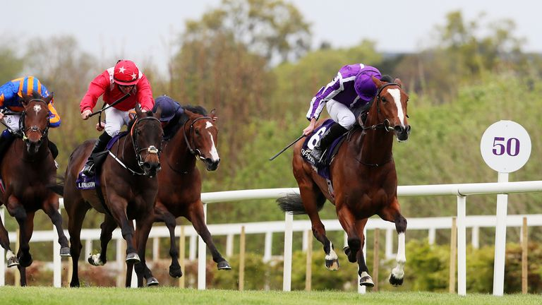 Joan Of Arc ridden by Ryan Lee Moore (right)