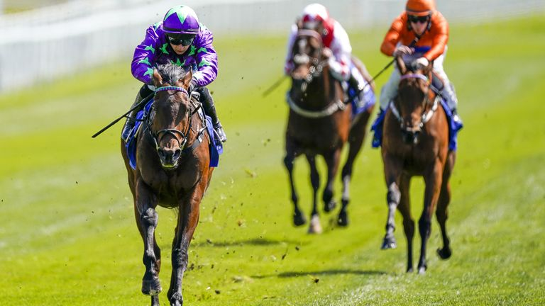 Navello is away and clear at Chester