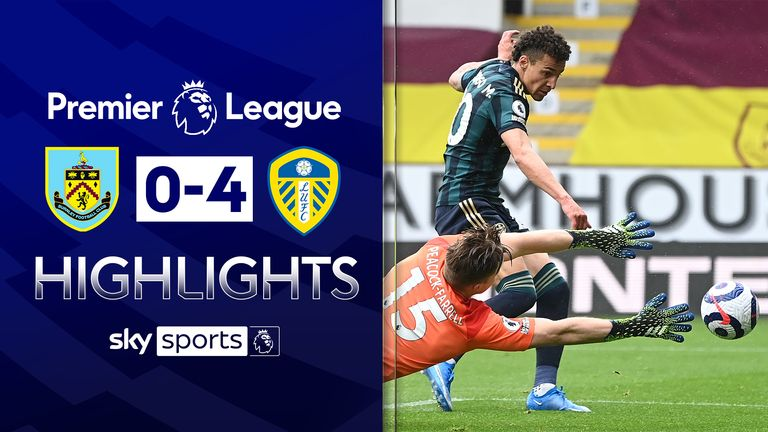 FREE TO WATCH: Highlights from Leeds' win at Burnley in the Premier League