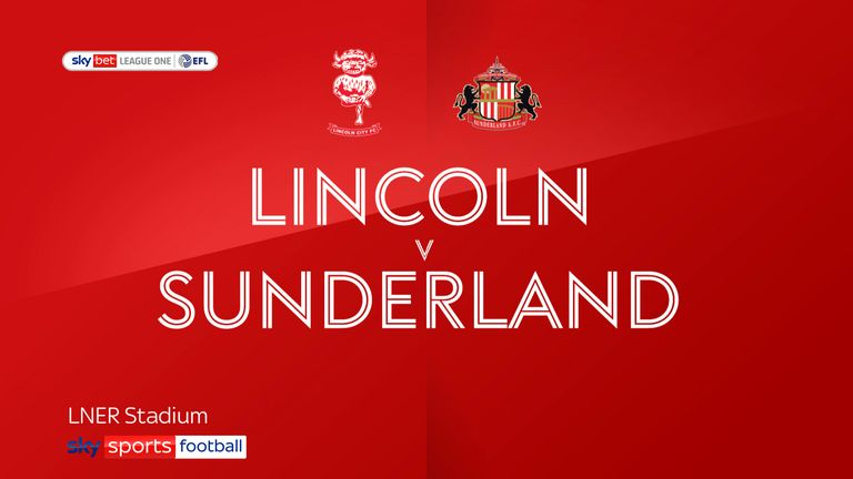 Watch highlights of Lincoln's impressive first-leg win over Sunderland