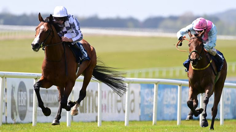 Broome ridden by Ryan Moore