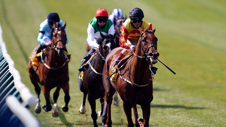 Sir Ron Priestley makes all to win at Newmarket