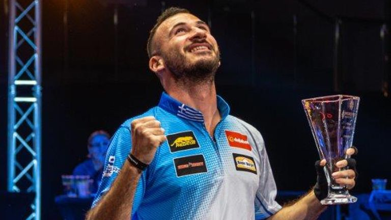 The Greek gods were with Alex Kazakis as he claimed the World Pool Masters with a perfect performance in Gibraltar