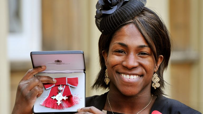 Alphonsi picked up an MBE in 2012