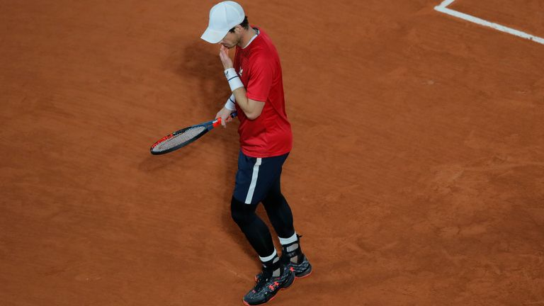 Murray will not be making an appearance at Roland Garros this year