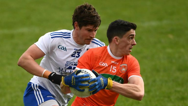 Armagh and Monaghan face off on Saturday afternoon, live on Sky Sports