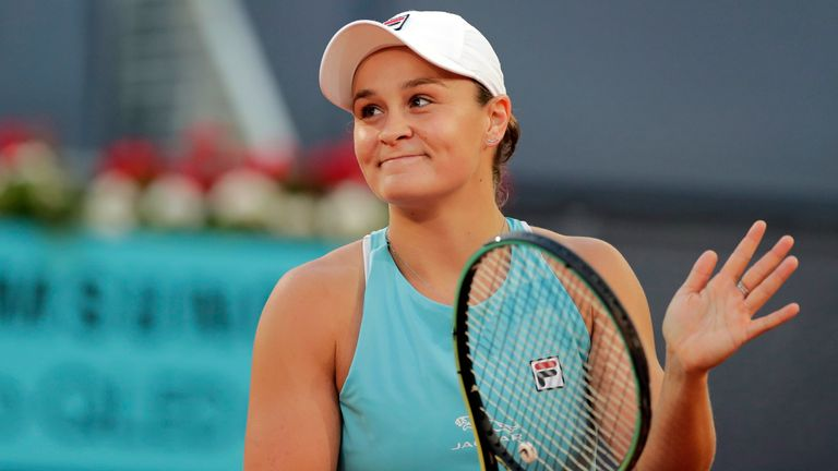 Ashleigh Barty and Iga Swiatek have been drawn in the same half