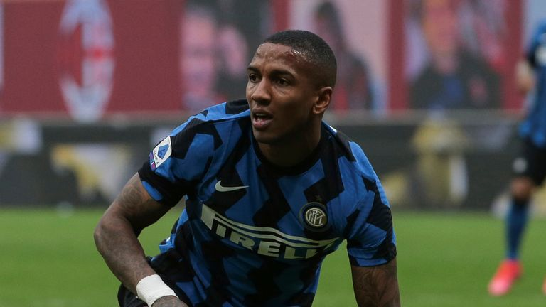 Ashley Young's contract at Inter Milan expires at the end of the season