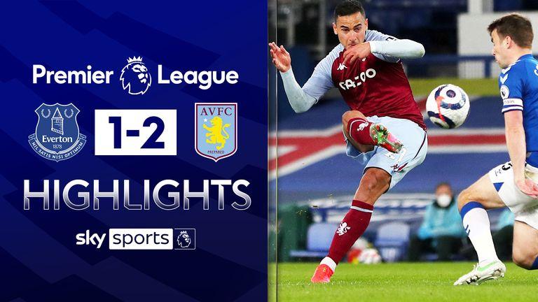 Everton v Aston Villa highlights