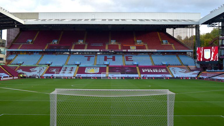 Aston Villa are offering up Villa Park as a venue for the Champions League final