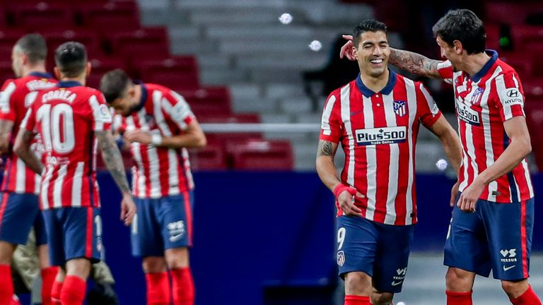 Atletico Madrid still lead the table, but their advantage has been cut