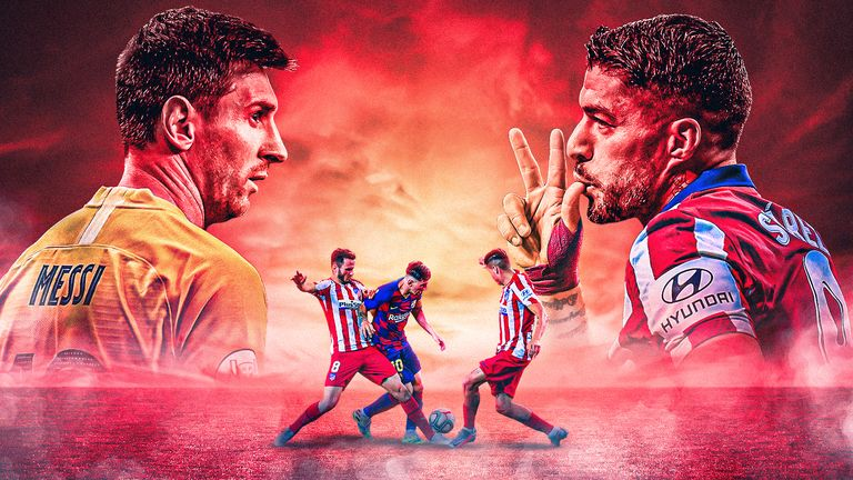 Barcelona and Atletico Madrid face off in a crunch La Liga title showdown - follow the action with Sky Sports