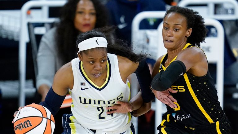 Highlights of the WNBA regular season game between the Dallas Wings and the Los Angeles Sparks on opening night.