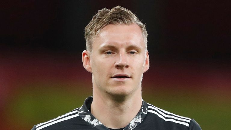 Bernd Leno says there is no truth in newspaper speculation linking him with a move away from Arsenal