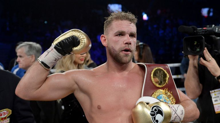 AP - Billy Joe Saunders