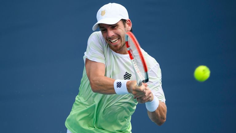 Cameron Norrie had defeated second seed Cristian Garin and former US Open champion Marin Cilic in his previous two matches