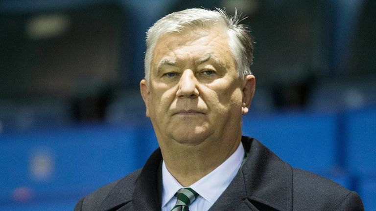 Celtic chief executive Peter Lawwell's family were left 'shaken and shocked', but escaped the property unhurt