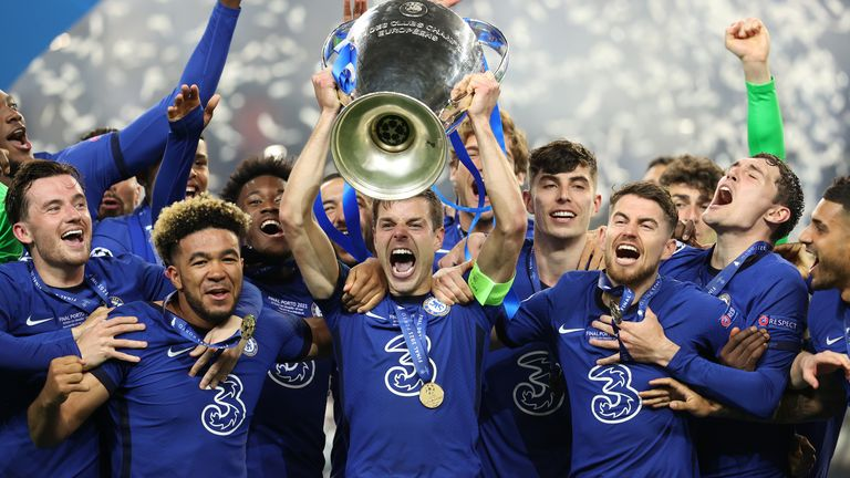 Chelsea won the Champions League for a second time