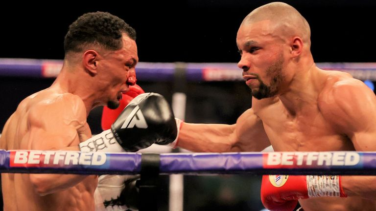 Chris Eubank Jr defeats Marcus Morrison by unanimous decision to stay the course for high profile fight this year |  Boxing News