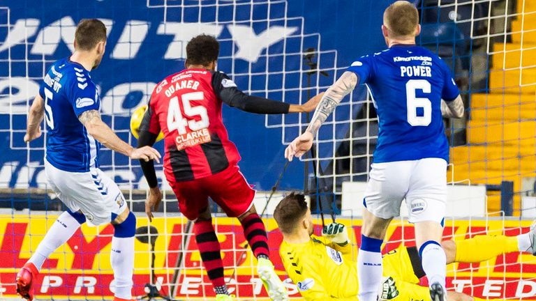 Collin Quaner made sure St Mirren came away with a point from Rugby Park