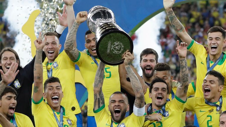 Brazil are defending Copa America champions from 2019