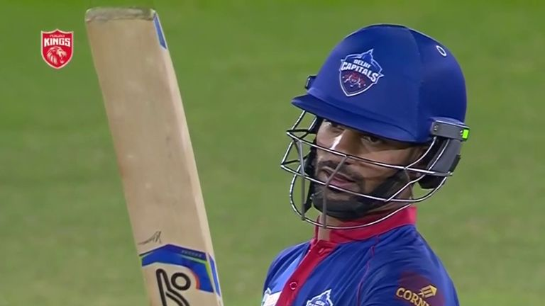 Shikhar Dhawan's unbeaten 69 off 47 balls against Punjab Kings lifted Delhi Capitals to the top of the IPL standings