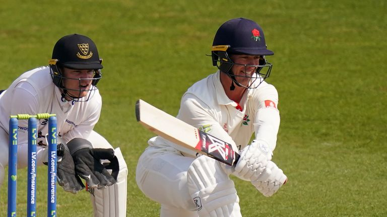 Lancashire opener Keaton Jennings registered three figures to help his side build a sizeable advantage in the Roses match against Yorkshire (PA Images)