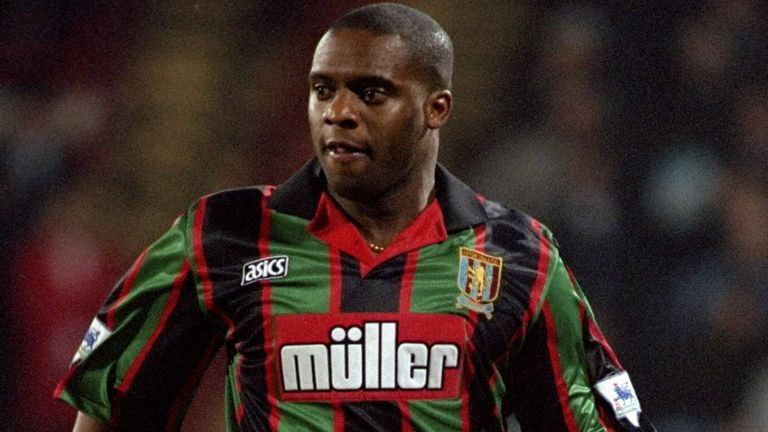 Dalian Atkinson, pictured here in 1995, died in August 2016