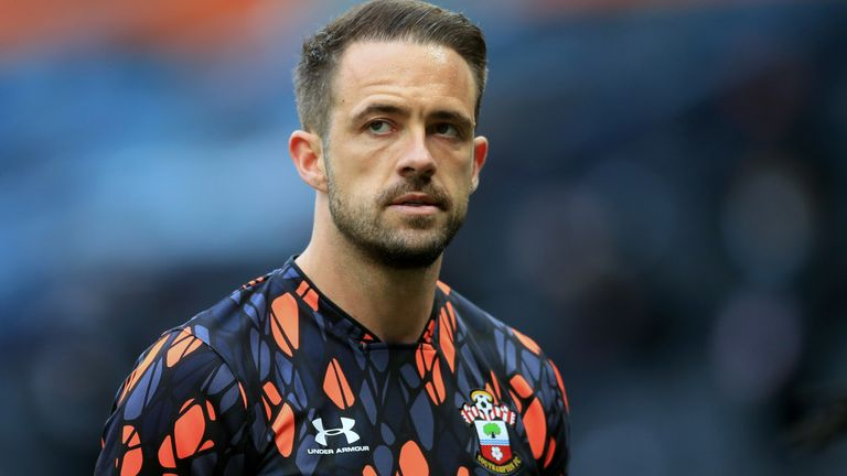 Southampton's Danny Ings ahead of the Premier League match at the Tottenham Hotspur Stadium, London. Picture date: Wednesday April 21, 2021.