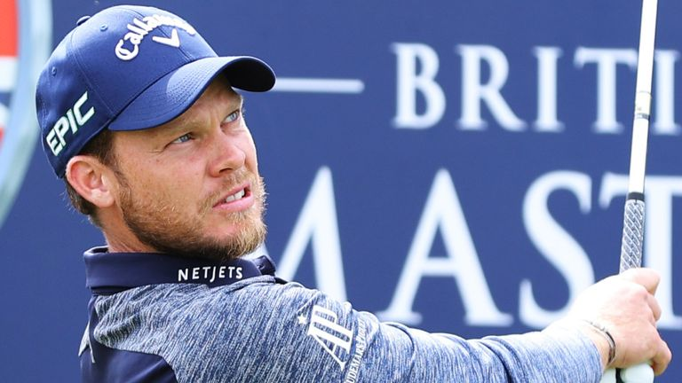 Danny Willett had his season disrupted by a positive Covid-19 test