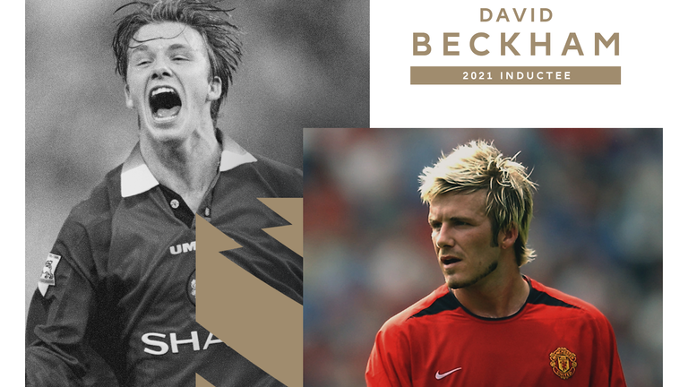 David Beckham inducted into the Premier League Hall of Fame