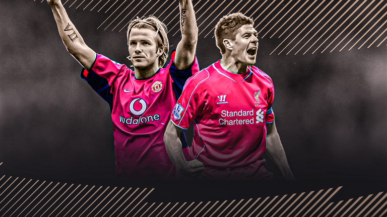 David Beckham and Steven Gerrard have been inducted to the Premier League Hall of Fame