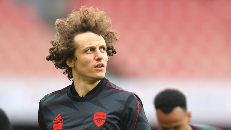 David Luiz is leaving Arsenal when his contract expires this summer
