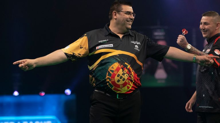 The in-form Special One - Jose de Sousa - could be the man to beat in Blackpool (Image: Lawrence Lustig/PDC)