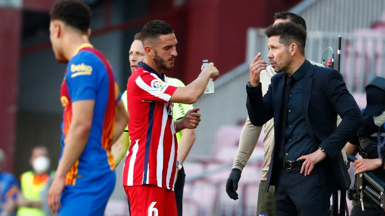 Diego Simeone isn't interested in watching Real Madrid on Sunday