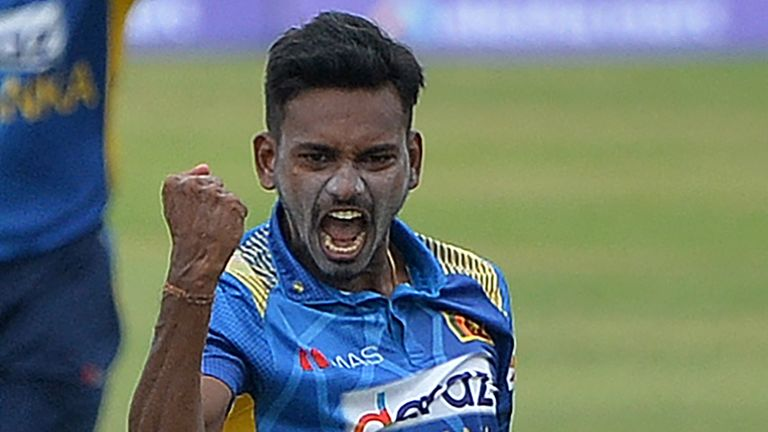 Sri Lanka's Dushmantha Chameera claimed three wickets in a losing cause in Dhaka