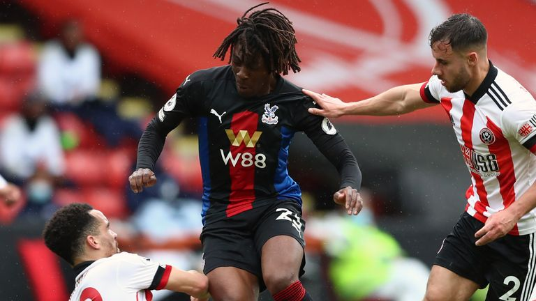 Eberechi Eze has had an impressive first season with Crystal Palace after joining last summer from QPR