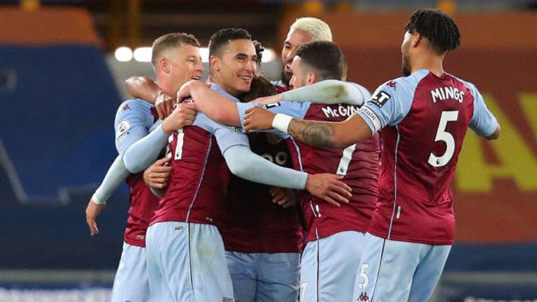 Anwar El Ghazi's strike earned Aston Villa all three points at Everton