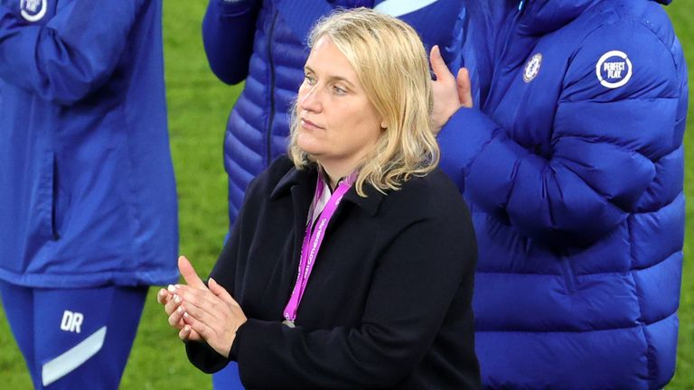 Emma Hayes believes Chelsea will learn from their Women's Champions League final defeat