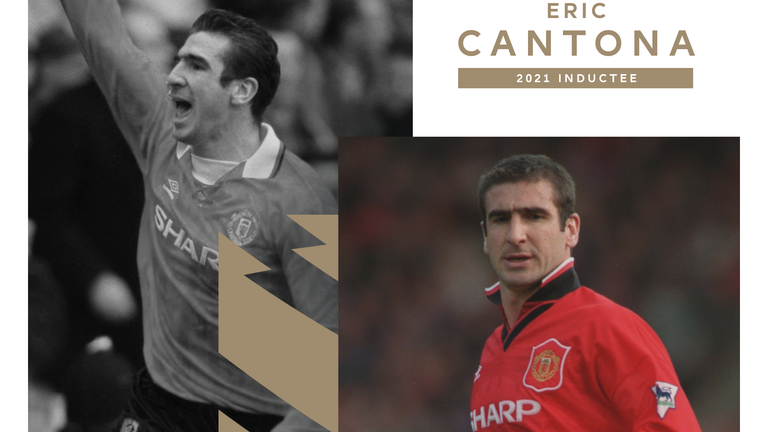 Eric Cantona scored 70 goals in 156 Premier League appearances for Manchester United