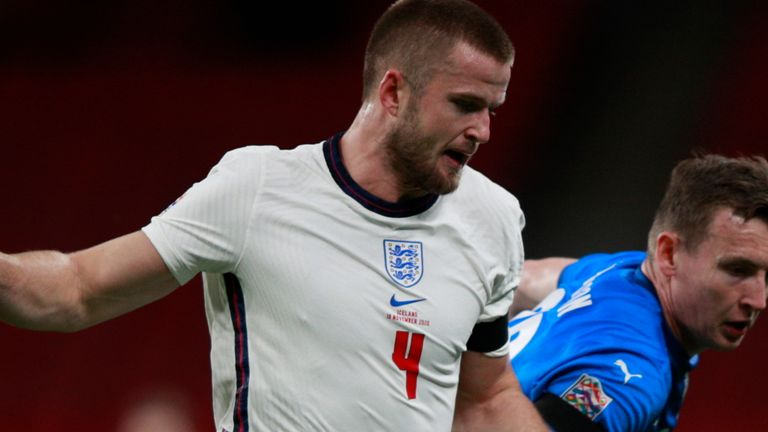 Eric Dier has been left out of Gareth Southgate's England squad