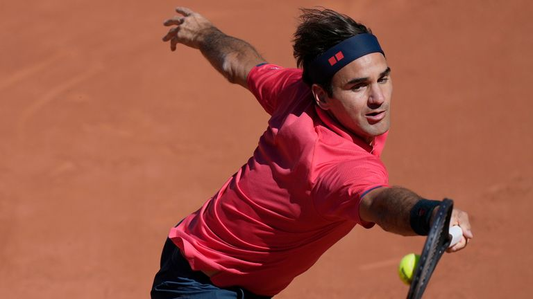 Roger Federer was making just his second Roland Garros appearance since 2015