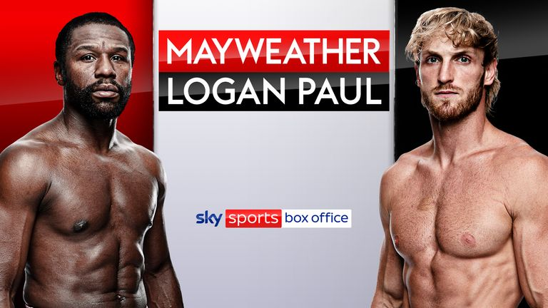 Mayweather Vs Logan Paul Timing Pricing And Booking Details For Floyd Mayweather Vs Logan Paul Boxing News Sky Sports