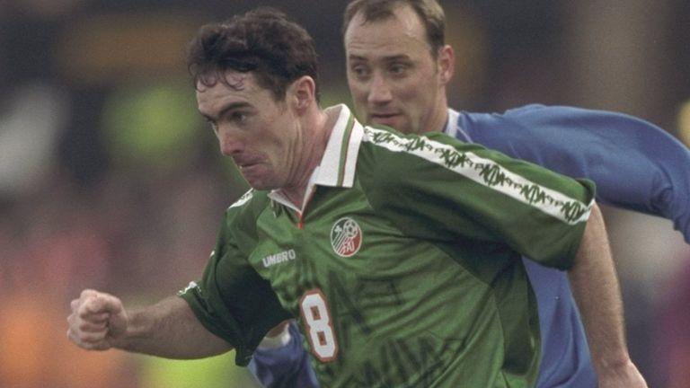 Former Republic of Ireland midfielder Alan McLoughlin
