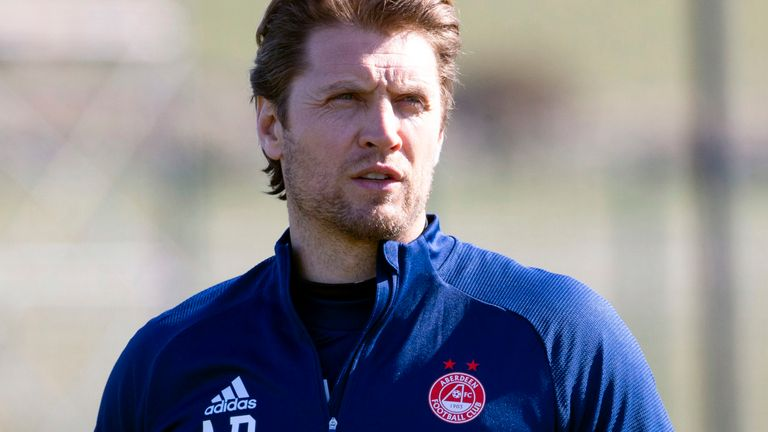 Aberdeen assistant coach Allan Russell