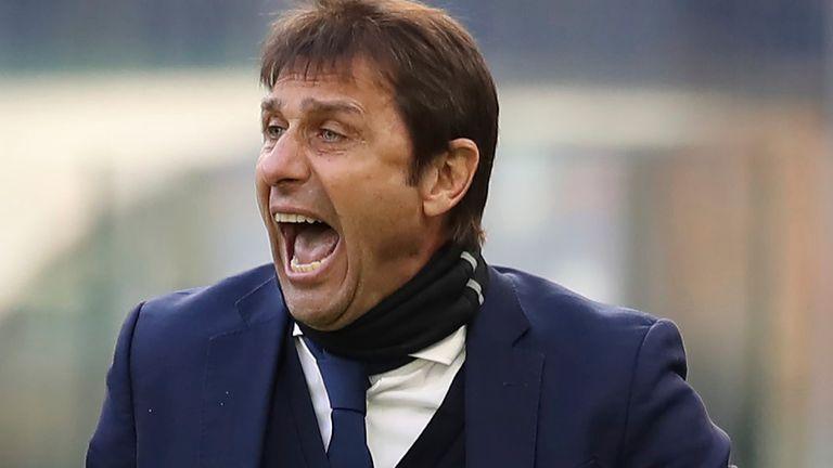 Former Inter Milan head coach Antonio Conte